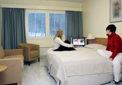 Arctic Circle Hotel Single Room